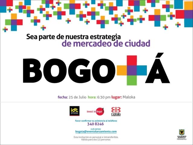 Invitation City Marketing Bogota
