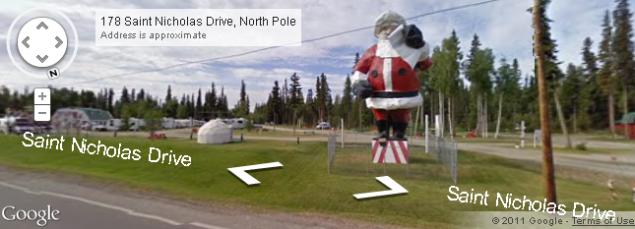Google Sightseeing - Christmas