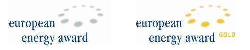 Logos European Energy Award and European Energy Award Gold