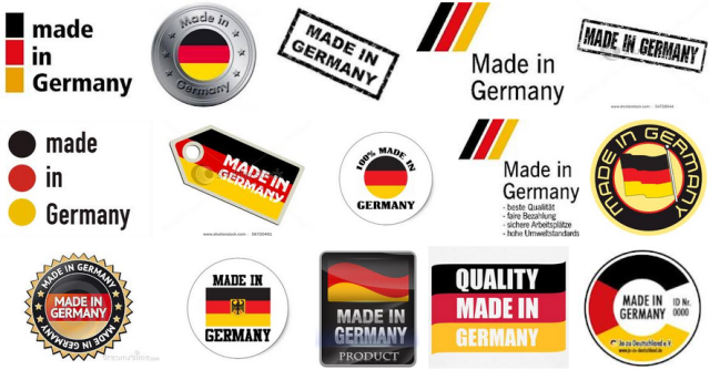 Made in Germany logos