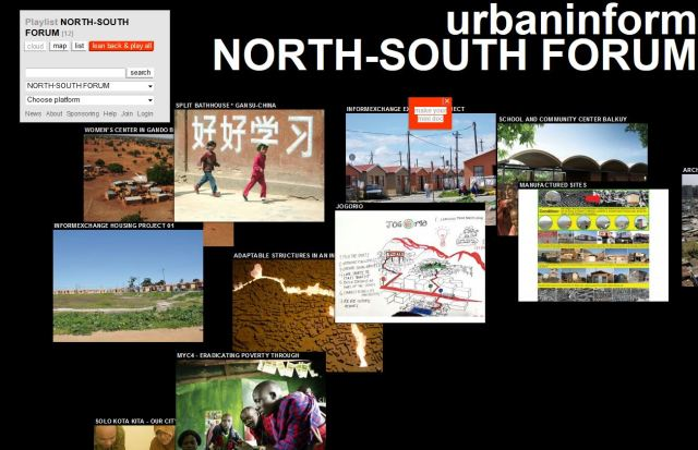 Screenshot from urbaninform.net