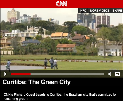 "CNN's Future Cities: ""Curitiba: The Green City"""