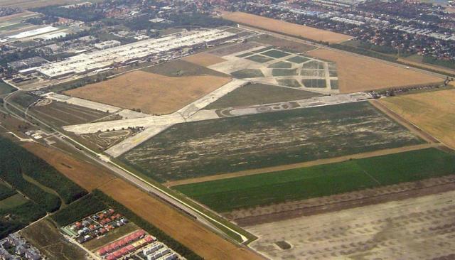 The former Aspener Airfield.