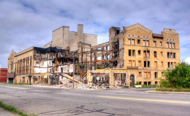 Former Easttown Theater Detroit