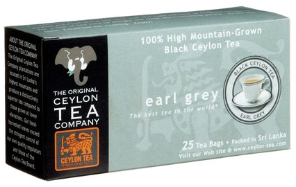 Ceylon Tea from Sri Lanka (formely known as Ceylon)