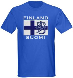 Finland Suomi Tshirt