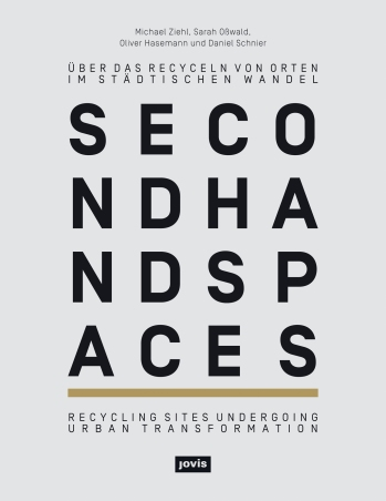 The book cover of Second Hand Spaces
