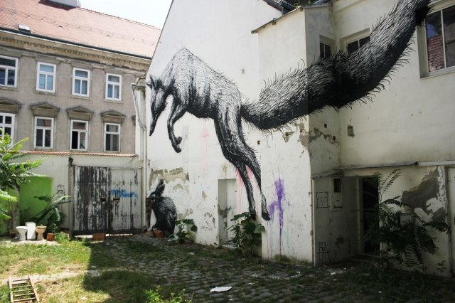 A former temporary use in Vienna - the so-called Fox House