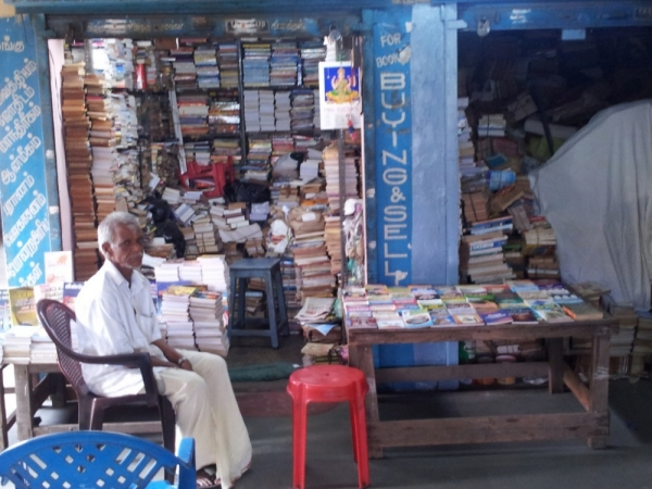 For vendors in Chennai, an informal outdoor location can be more profitable than a formalized indoor one. Credit: Jamie Osborne