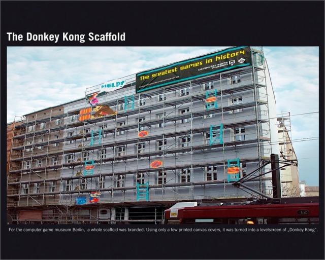 Donkey Kong Scaffold