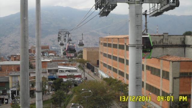 The cable car. Photo: Jaime Hernandez-Garcia, 2011