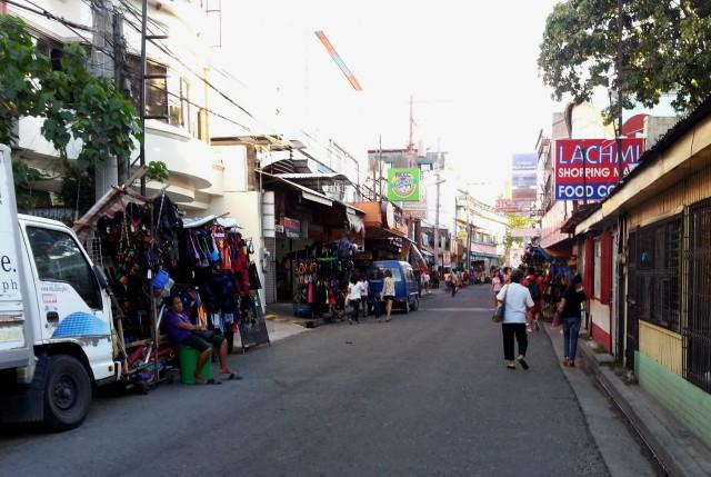 San Pedro street in downtown Davao