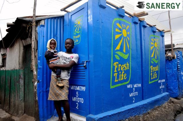 Fresh life toilet