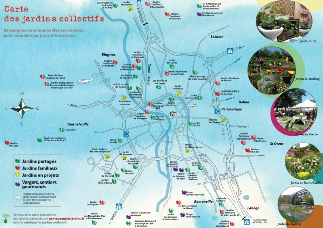 Official planning for gardening projects in Toulouse