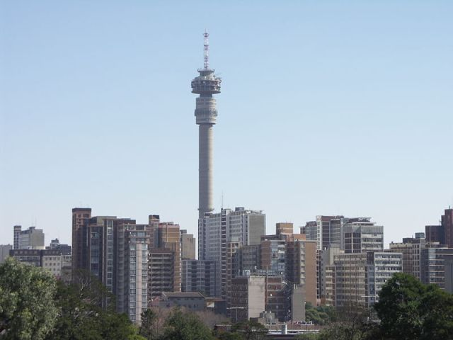 Hillbrow and Hillbrow tower
