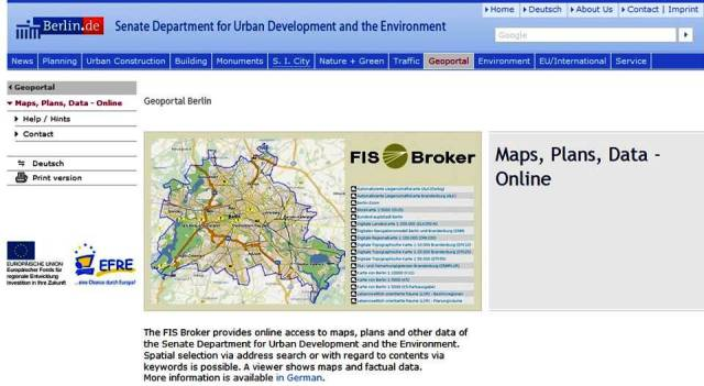 FIS Broker - Berlin GeoData