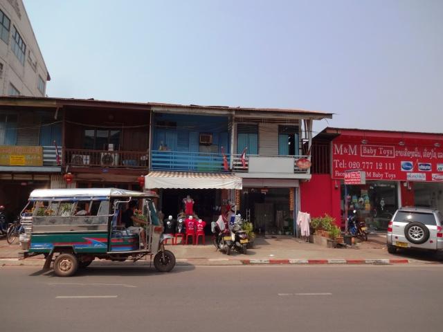 Street - Vientiane, Lao (Teipelke, 2014)