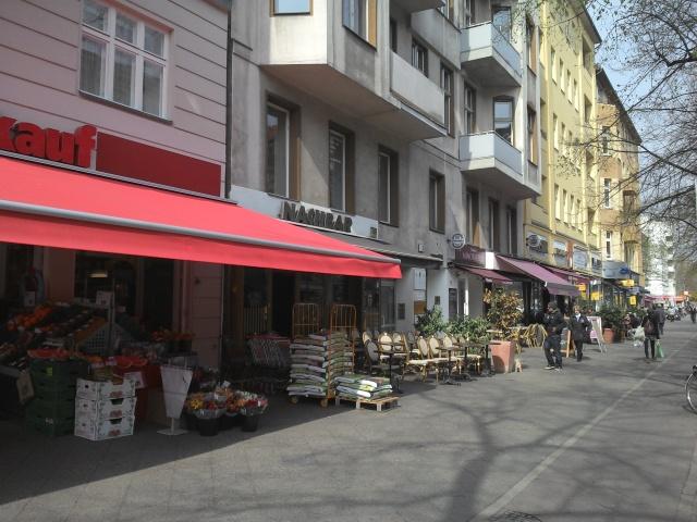Maaßenstrasse Foto: Lukas Hoye