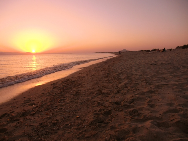Beach in Naxos