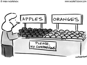 Comparison Cartoon (andertoons.com)