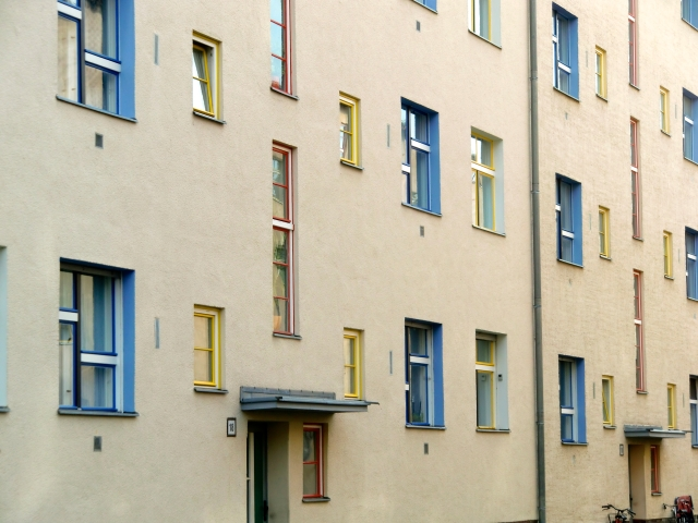 Carl Legien Siedlung in Berlin (Built: 1928-1930; Architect: Bruno Taut)