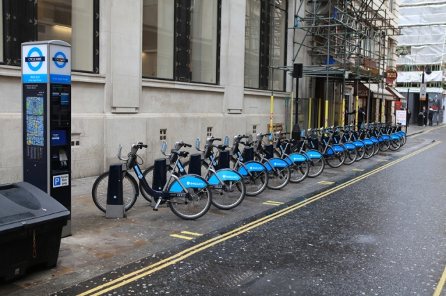 Barclays Cycle Hire System in London