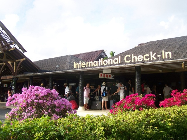 Samui Airport - Check-In (easydaysamui, Feb'12)